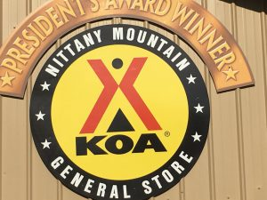 Koa Logo Sign