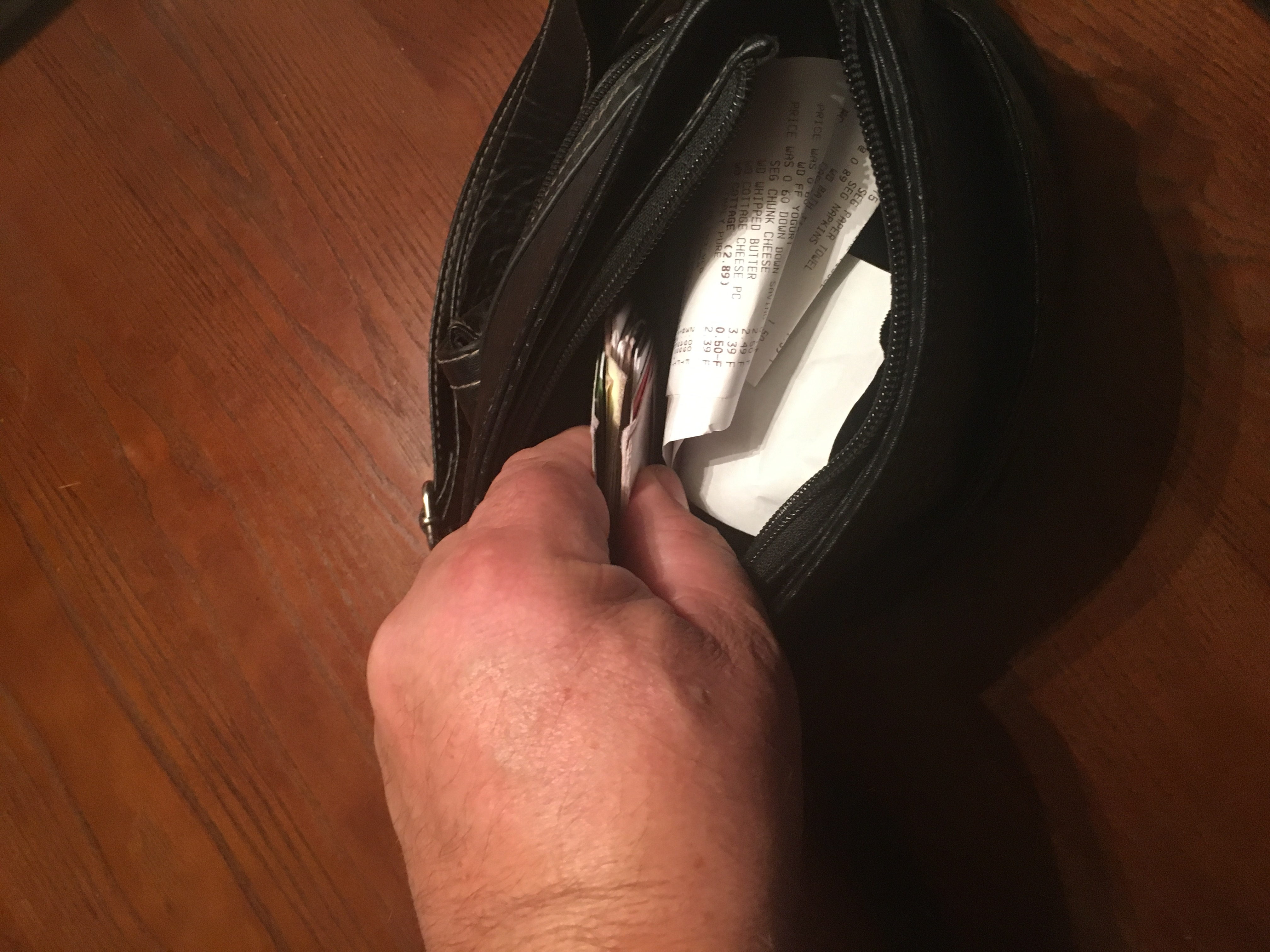 Hand In Purse