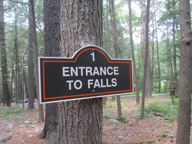 Entrance To Falls
