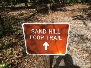 Sand Loop Trail Sign