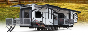 Typical 5th Wheel Trailer