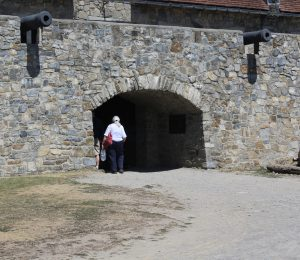 Entrance Into Fort