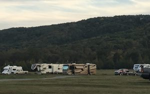 Mountain View Over Camper