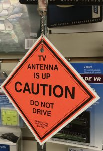 Antenna Is Up Sign