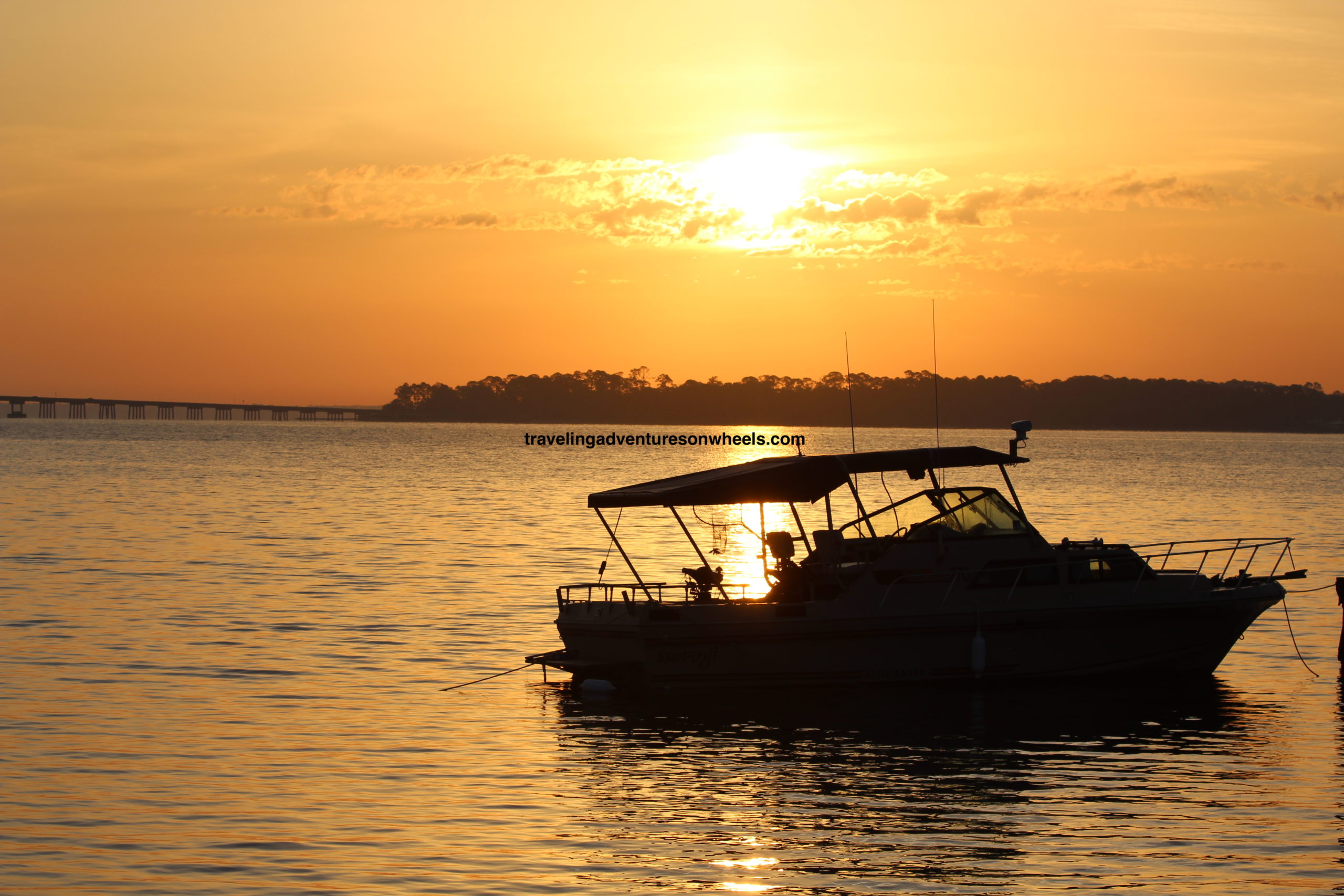 Boat On Perdido Bay