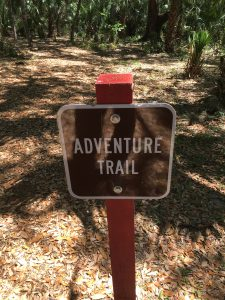 Adventure Trail Sign