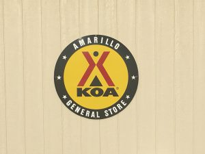 KOA Amarillo Sign