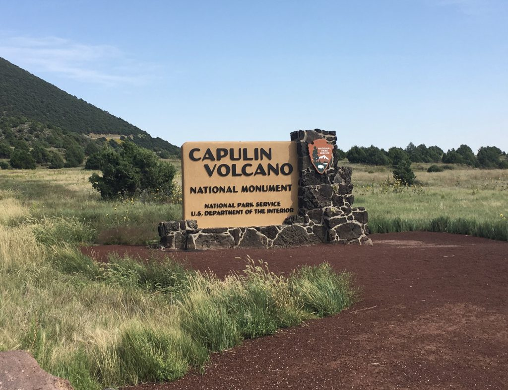 Capulin Sign