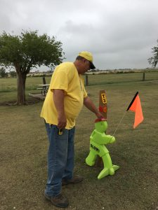Putting Out The Little Green Men
