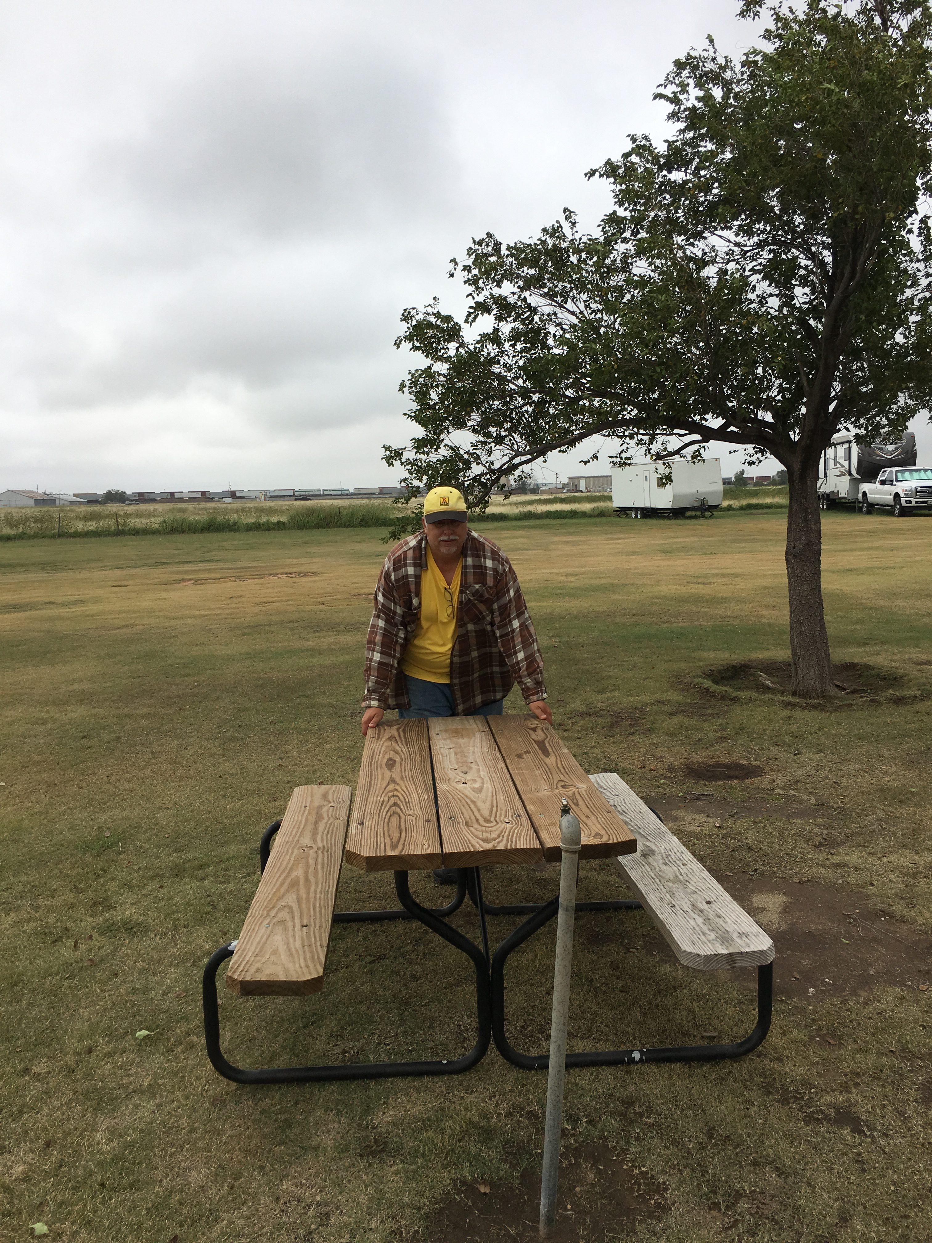 Organizing Picnic Tables