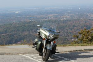 Scenic View With The Bike