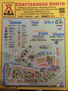 Site Map Chattanooga
