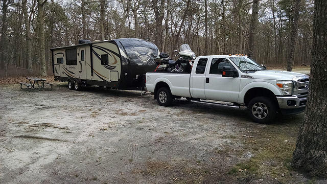Truck And Camper At Southhaven Park