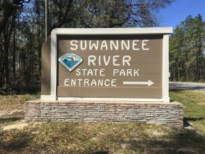 Suwannee River State Park Sign