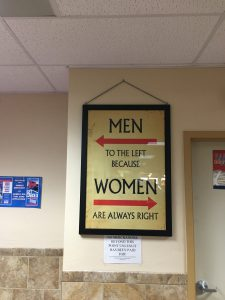 Men Women Sign