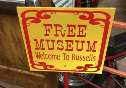 Free Museum Sign