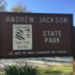 Andrew Jackson State Park Entrance Sign