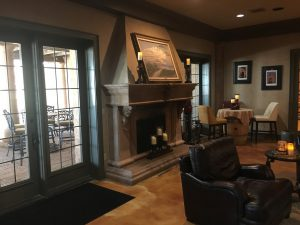 The Fireplace In The Main Room