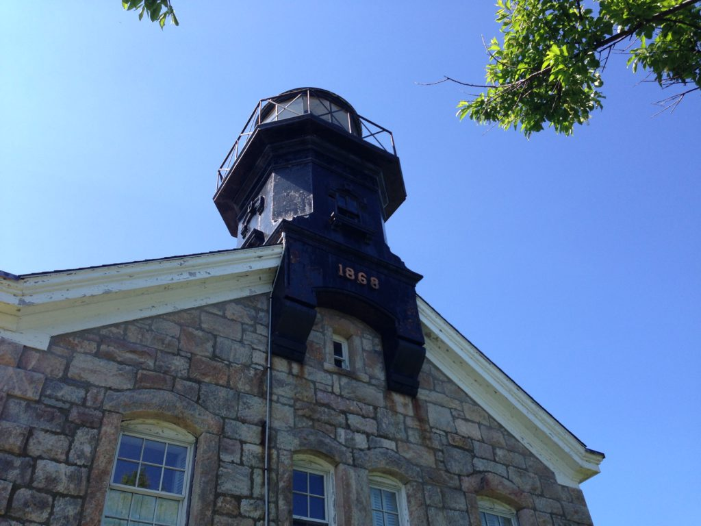 Old Field Lighthouse Front View Looking Up