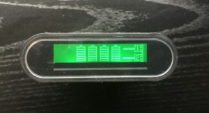 Cell Phone Charger Readout