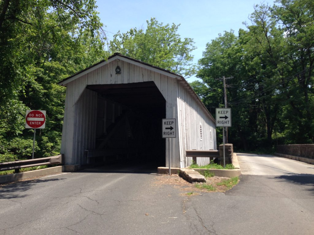 Green Sargents Covered Bridge