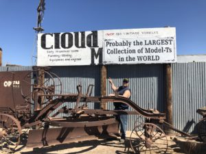 Cloud Museum Sign