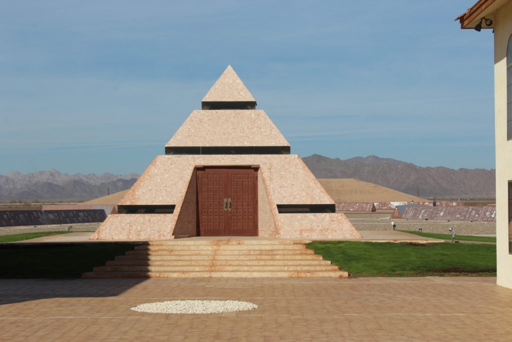 Center Of The World Pyramid