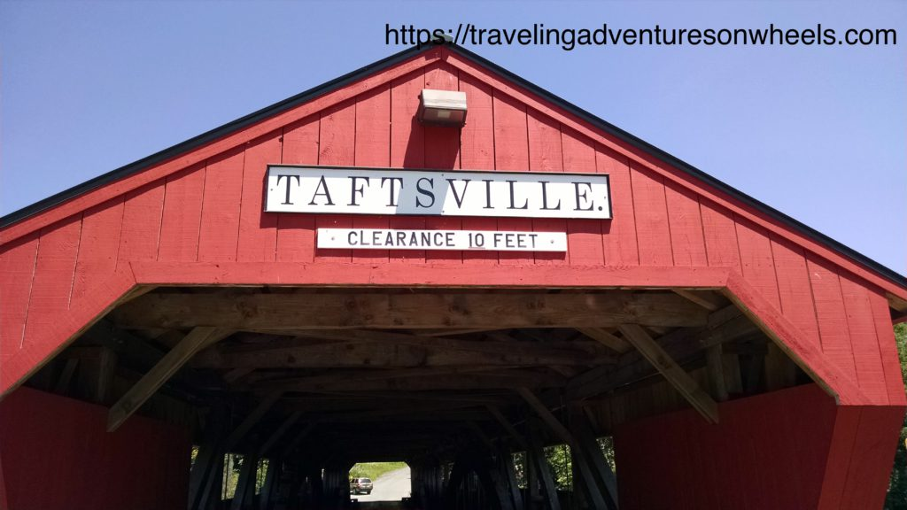 Taftsville Bridge Roof Sign