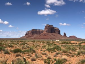 Monument Valley Mountain