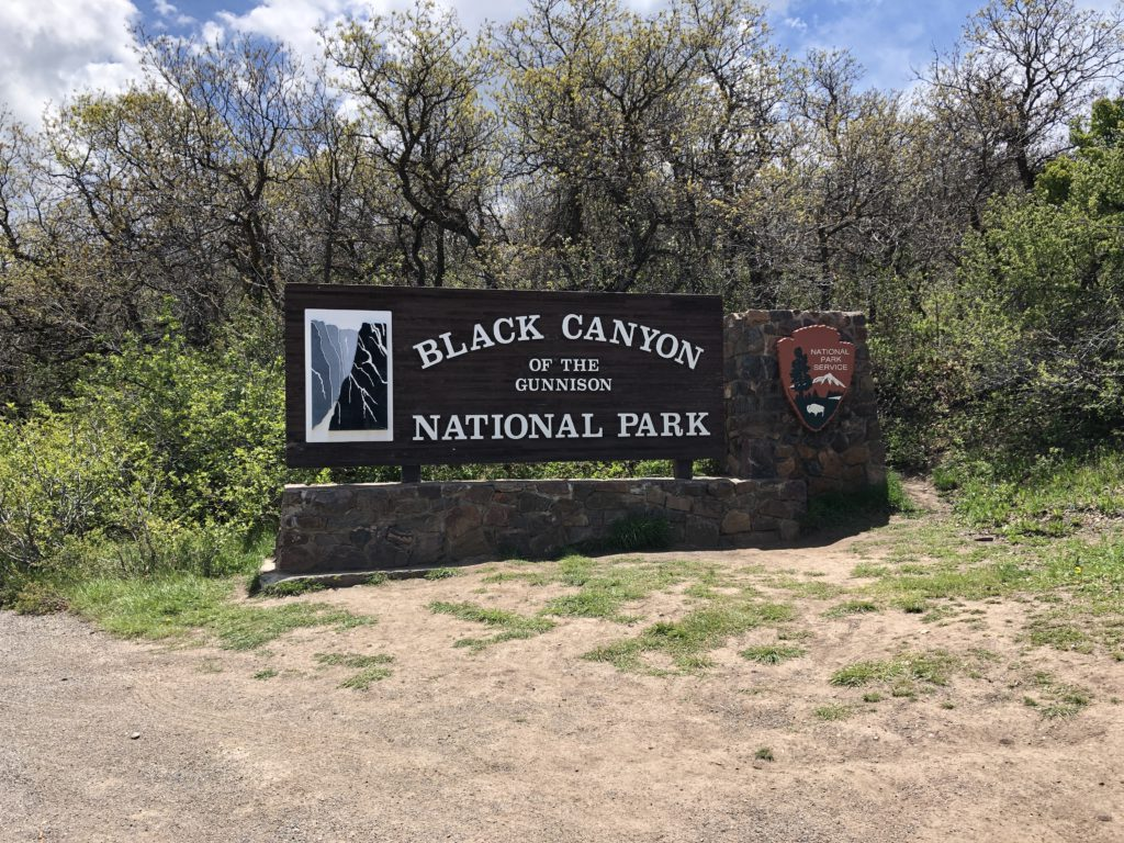 Black Canyon Sign