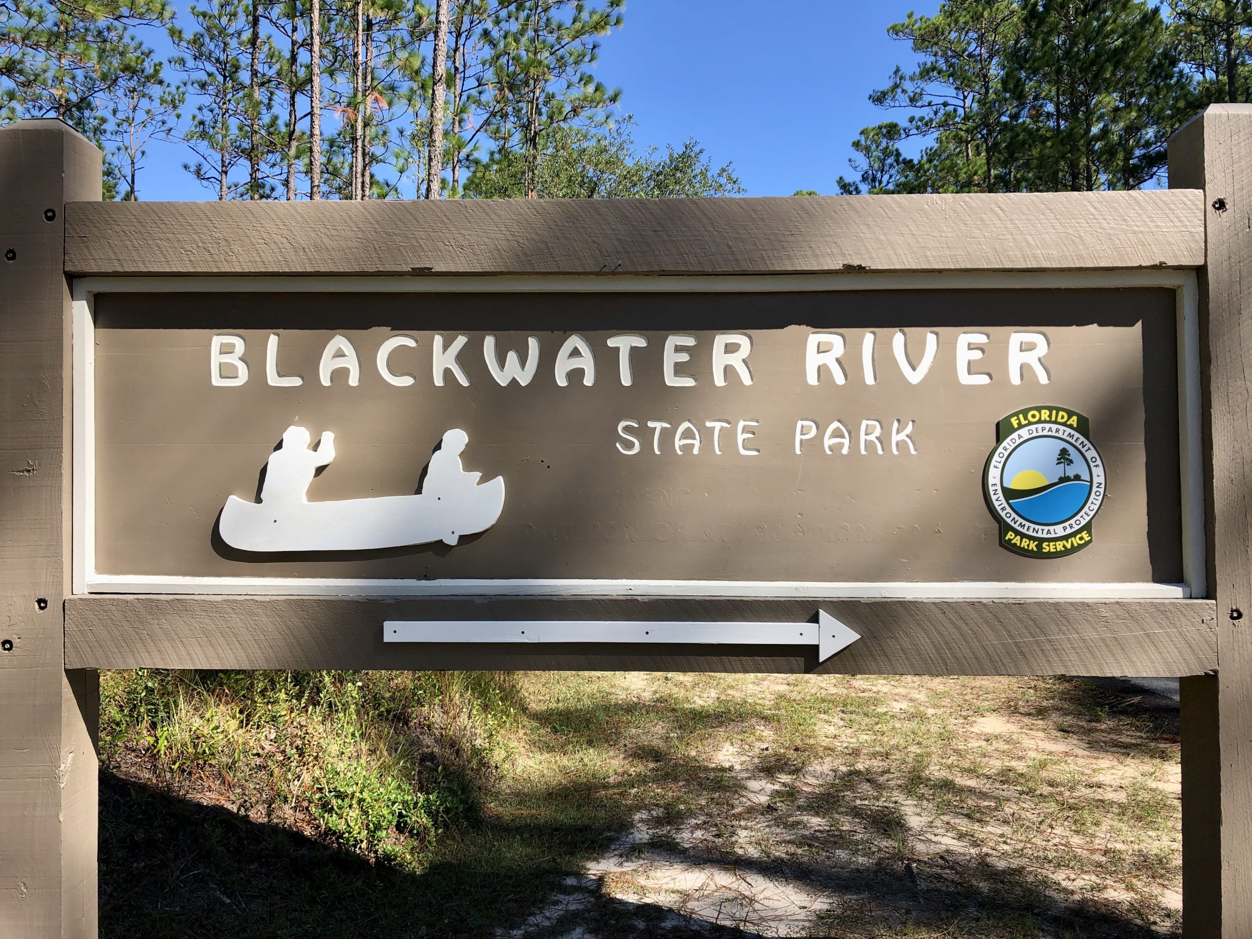 Blackwater River Park Sign