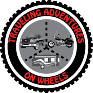 Traveling Adventures On Wheels Logo
