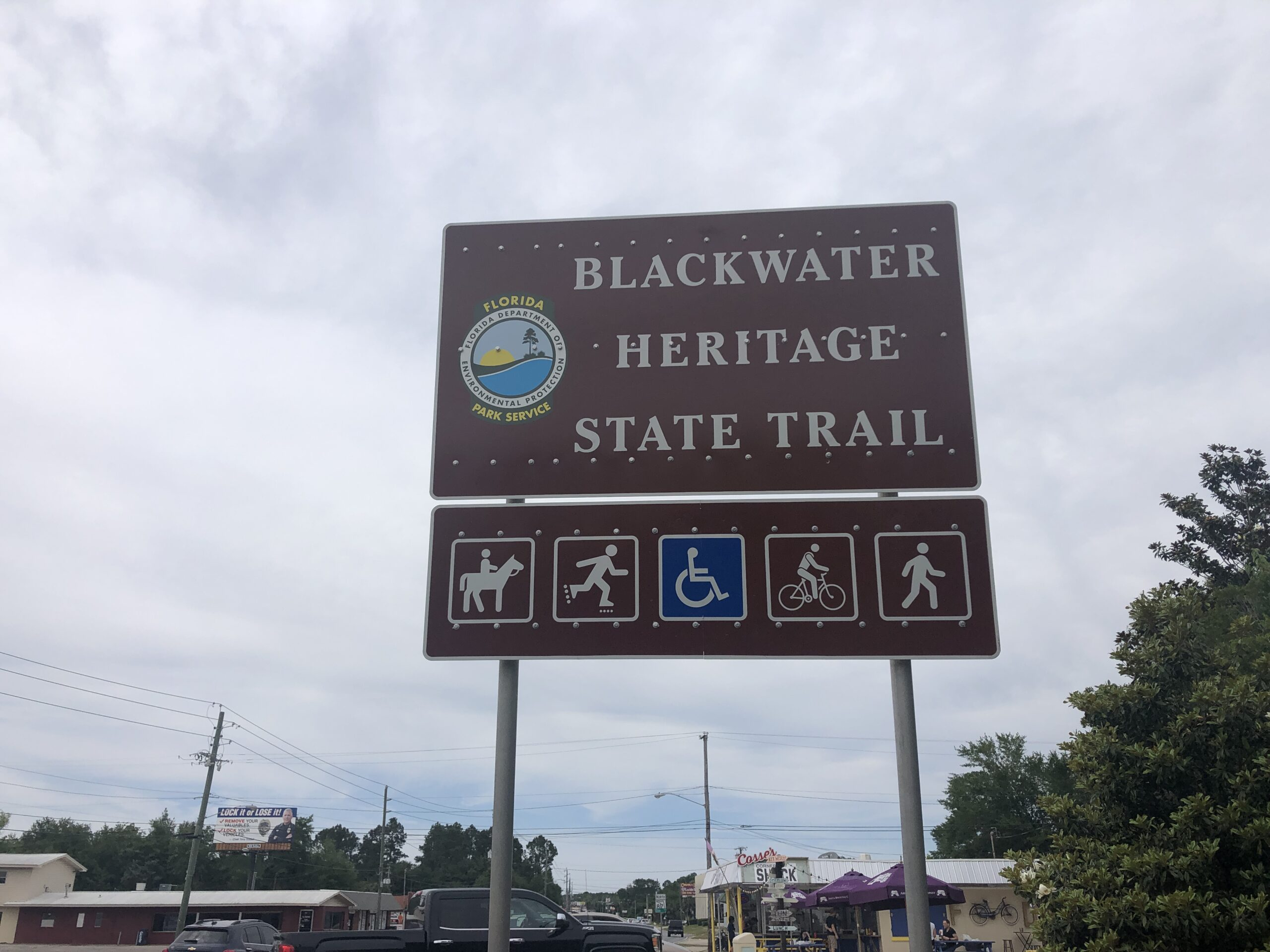Blackwater Heritage Trail Sign